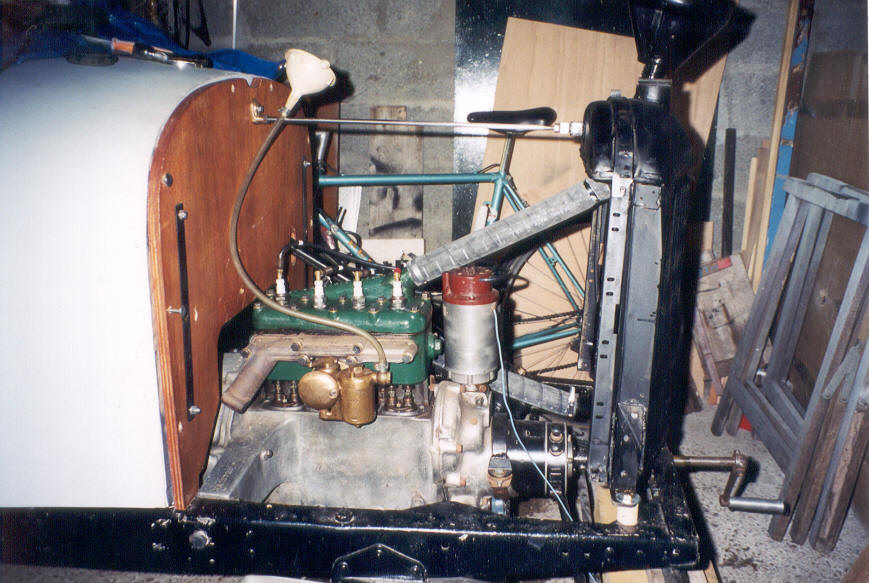 moteur essence fumee blanche